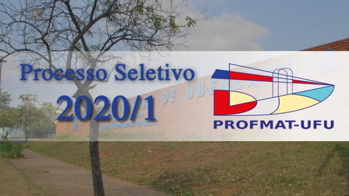 Banner Processo Seletivo 2020/1